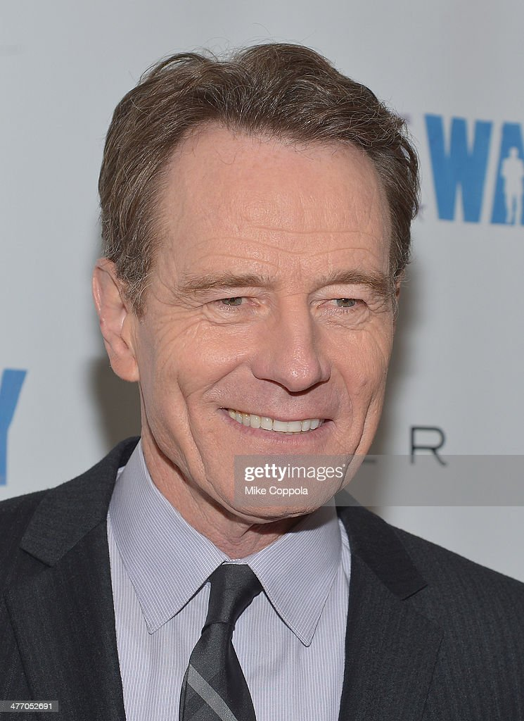 Actor <a gi-track='captionPersonalityLinkClicked' href=/galleries/search?phrase=Bryan+Cranston&family=editorial&specificpeople=217768 ng-click='$event.stopPropagation()'>Bryan Cranston</a> attends 'All The Way' opening night at Neil Simon Theatre on March 6, 2014 in New York City.