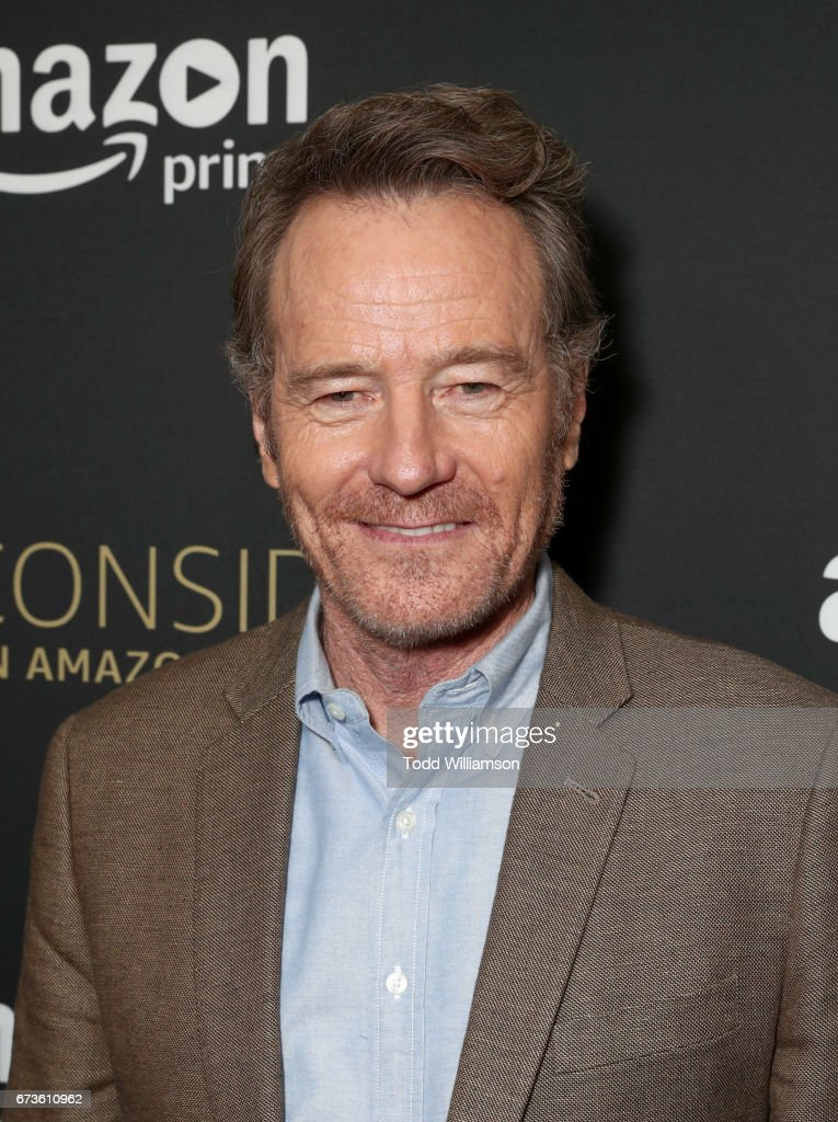 Actor Bryan Cranston attends Amazon original series 'Sneaky Pete' Emmy FYC Screening and panel on April 26, 2017 in Hollywood, California.
