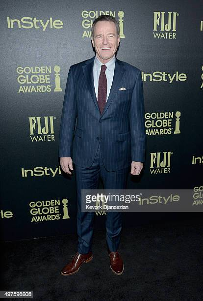 Actor Bryan Cranston attends Hollywood Foreign Press Association and InStyle Celebration of The 2016 Golden Globe Award Season at Ysabel on November...