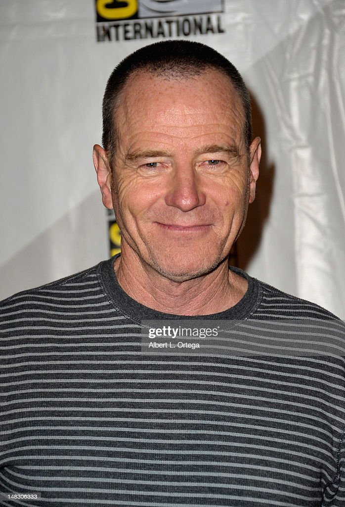 Actor <a gi-track='captionPersonalityLinkClicked' href=/galleries/search?phrase=Bryan+Cranston&family=editorial&specificpeople=217768 ng-click='$event.stopPropagation()'>Bryan Cranston</a> attends Sony's 'Total Recall' panel during Comic-Con International 2012 at San Diego Convention Center on July 13, 2012 in San Diego, California.