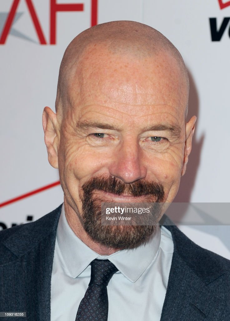 Actor <a gi-track='captionPersonalityLinkClicked' href=/galleries/search?phrase=Bryan+Cranston&family=editorial&specificpeople=217768 ng-click='$event.stopPropagation()'>Bryan Cranston</a> attends the 13th Annual AFI Awards at Four Seasons Los Angeles at Beverly Hills on January 11, 2013 in Beverly Hills, California.