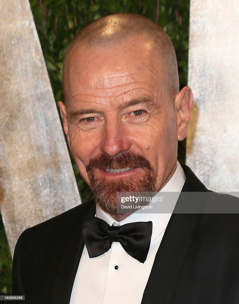 Actor Bryan Cranston attends the 2013 Vanity Fair Oscar Party at the Sunset Tower Hotel on February 24, 2013 in West Hollywood, California.