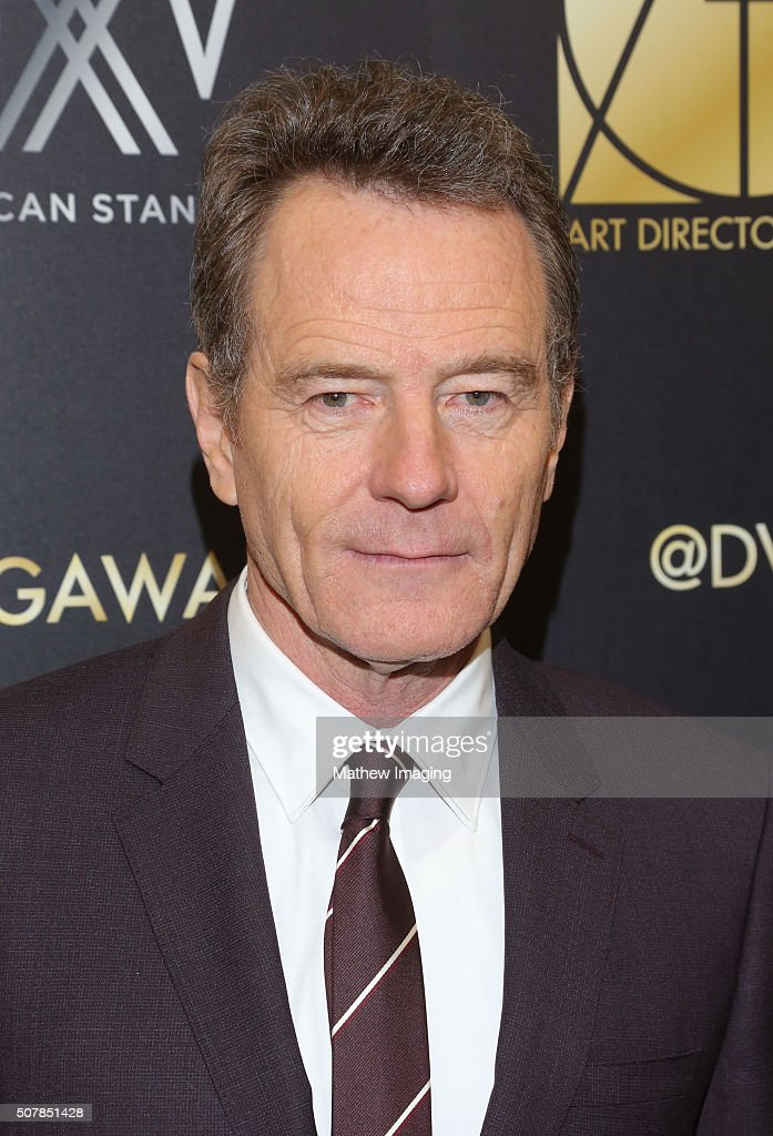 Actor Bryan Cranston attends the 20th Annual Art Directors Guild Excellence In Production Design Awards at The Beverly Hilton Hotel on January 31...