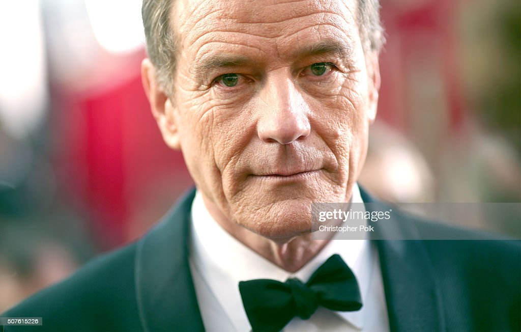 Actor Bryan Cranston attends The 22nd Annual Screen Actors Guild Awards at The Shrine Auditorium on January 30 2016 in Los Angeles California...
