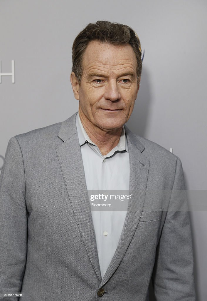 Actor Bryan Cranston attends the 23rd Annual White House Correspondents' Garden Brunch in Washington, D.C., U.S., on Saturday, April 30, 2016. The event will raise awareness for Halcyon Incubator, an organization that supports early stage social entrepreneurs 'seeking to change the world' through an immersive 18-month fellowship program. Photographer: Andrew Harrer/Bloomberg via Getty Images
