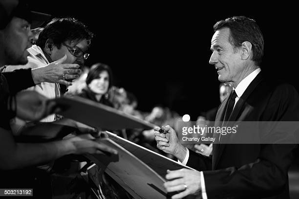 Actor Bryan Cranston attends the 27th Annual Palm Springs International Film Festival Awards Gala at Palm Springs Convention Center on January 2 2016...