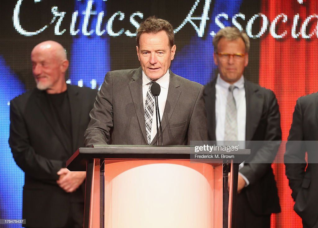 Actor <a gi-track='captionPersonalityLinkClicked' href=/galleries/search?phrase=Bryan+Cranston&family=editorial&specificpeople=217768 ng-click='$event.stopPropagation()'>Bryan Cranston</a> attends the 29th Annual Television Critics Association Awards at the Beverly Hilton Hotel on August 3, 2013 in Beverly Hills, California.