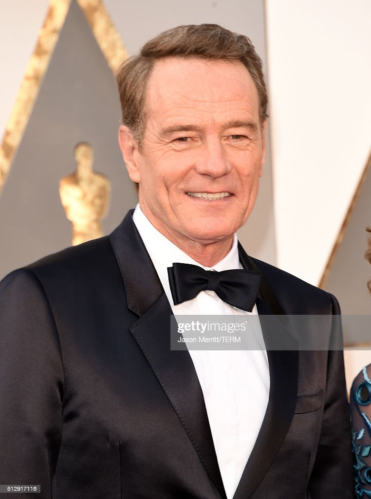 Actor <a gi-track='captionPersonalityLinkClicked' href=/galleries/search?phrase=Bryan+Cranston&family=editorial&specificpeople=217768 ng-click='$event.stopPropagation()'>Bryan Cranston</a> attends the 88th Annual Academy Awards at Hollywood & Highland Center on February 28, 2016 in Hollywood, California.
