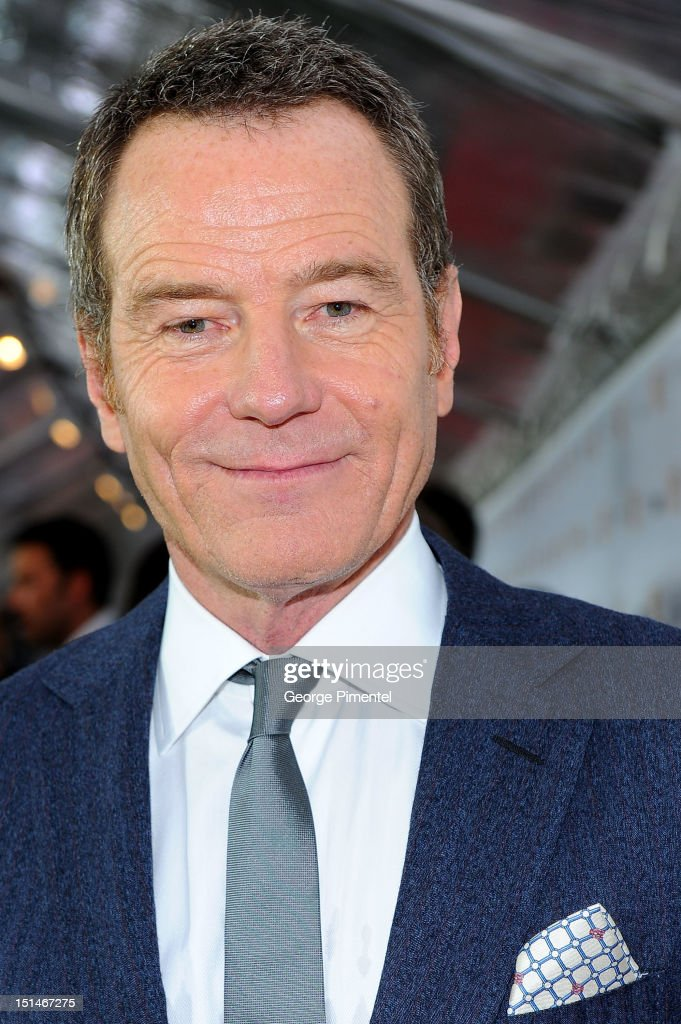 Actor <a gi-track='captionPersonalityLinkClicked' href=/galleries/search?phrase=Bryan+Cranston&family=editorial&specificpeople=217768 ng-click='$event.stopPropagation()'>Bryan Cranston</a> attends the 'Argo' premiere during the 2012 Toronto International Film Festival at Roy Thomson Hall on September 7, 2012 in Toronto, Canada.