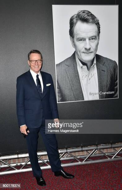 Actor Bryan Cranston attends the Cine Merit Award Gala during the Munich Film Festival 2017 at Gasteig on June 23 2017 in Munich Germany