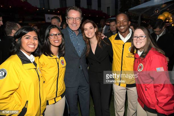 Actor Bryan Cranston attends the City Year Los Angeles Spring Break on May 6 2017 in Los Angeles California