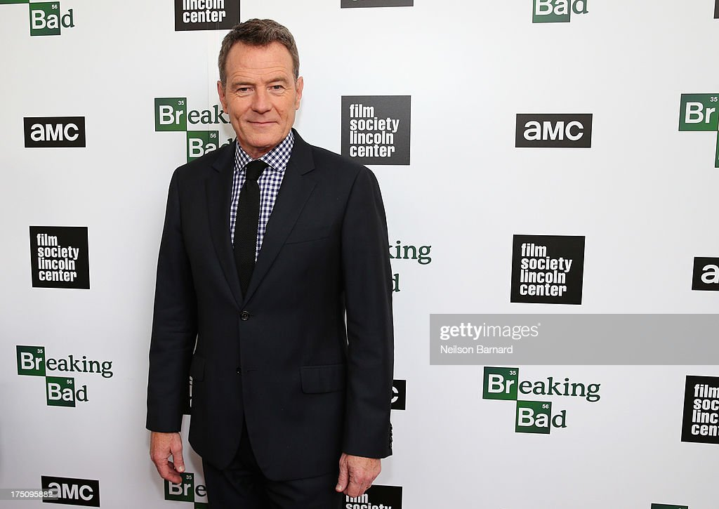 Actor <a gi-track='captionPersonalityLinkClicked' href=/galleries/search?phrase=Bryan+Cranston&family=editorial&specificpeople=217768 ng-click='$event.stopPropagation()'>Bryan Cranston</a> attends The Film Society of Lincoln Center and AMC Celebration of 'Breaking Bad' Final Episodes at The Film Society of Lincoln Center, Walter Reade Theatre on July 31, 2013 in New York City.