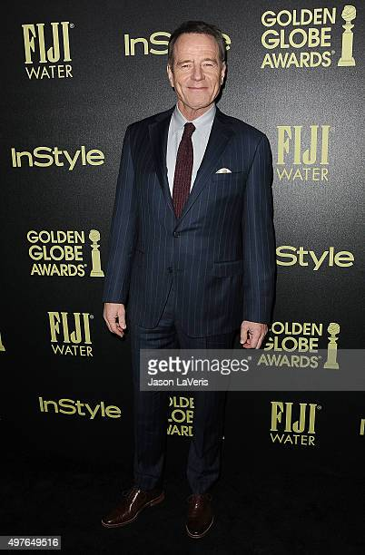Actor Bryan Cranston attends the Hollywood Foreign Press Association and InStyle's celebration of the 2016 Golden Globe award season at Ysabel on...