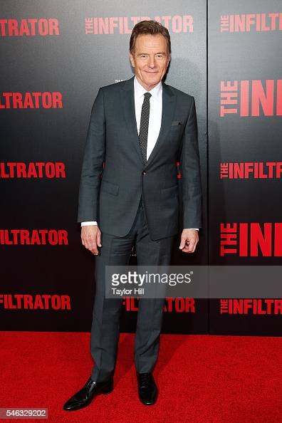 Actor Bryan Cranston attends the premiere of 'The Infiltrator' at AMC Loews Lincoln Square 13 theater on July 11 2016 in New York City