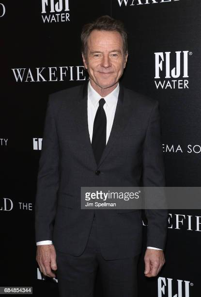 Actor Bryan Cranston attends the screening of IFC Films' 'Wakefield' hosted by The Cinema Society at Landmark Sunshine Cinema on May 18 2017 in New...