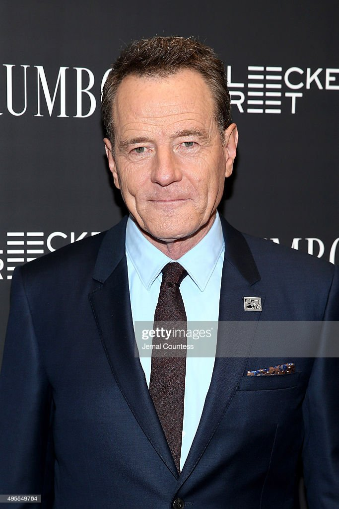 Actor <a gi-track='captionPersonalityLinkClicked' href=/galleries/search?phrase=Bryan+Cranston&family=editorial&specificpeople=217768 ng-click='$event.stopPropagation()'>Bryan Cranston</a> attends the 'Trumbo' New York premiere at MoMA Titus Two on November 3, 2015 in New York City.