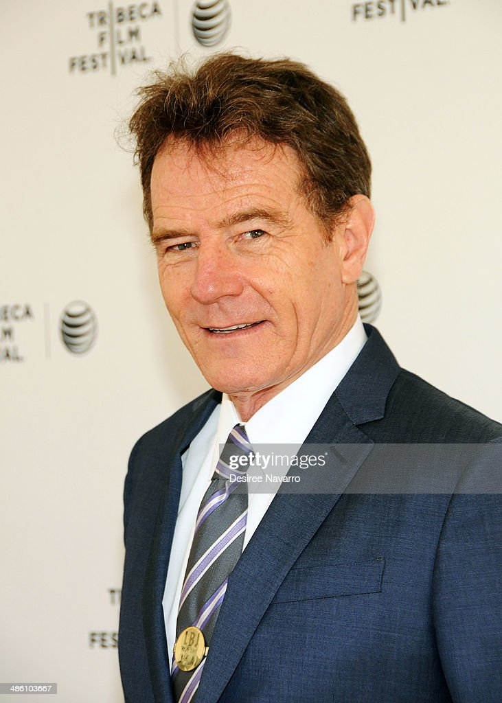 Actor <a gi-track='captionPersonalityLinkClicked' href=/galleries/search?phrase=Bryan+Cranston&family=editorial&specificpeople=217768 ng-click='$event.stopPropagation()'>Bryan Cranston</a> attends Tribeca Talks: Future Of Film: 'Your Brain On Story' & 'Psychos We Love'during the 2014 Tribeca Film Festival at SVA Theater on April 22, 2014 in New York City.