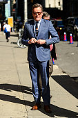Actor Bryan Cranston enters 'The Late Show With Stephen Colbert' taping at the Ed Sullivan Theater on July 11 2016 in New York City