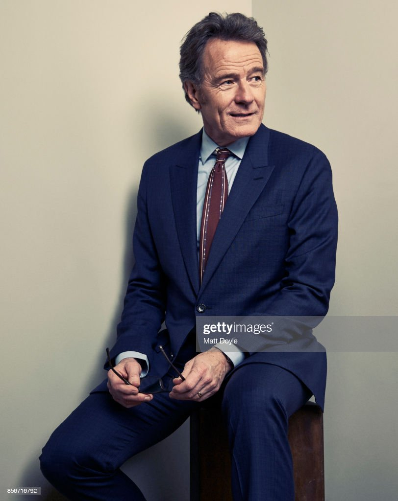 Actor Bryan Cranston from the film 'Last Flag Flying' poses for a portrait at the 55th New York Film Festival on September 28, 2017.