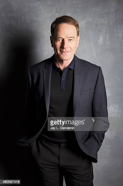Actor Bryan Cranston from the film 'Trumbo' is photographed for Los Angeles Times on September 25 2015 in Toronto Ontario PUBLISHED IMAGE CREDIT MUST...