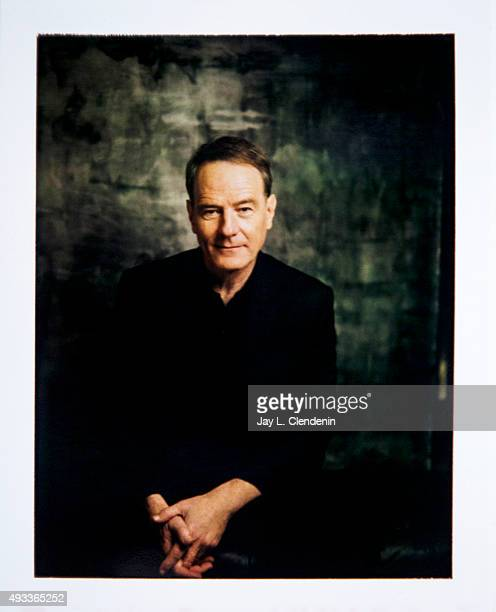 Actor Bryan Cranston from the film 'Trumbo' is photographed on polaroid film for Los Angeles Times on September 25 2015 in Toronto Ontario PUBLISHED...