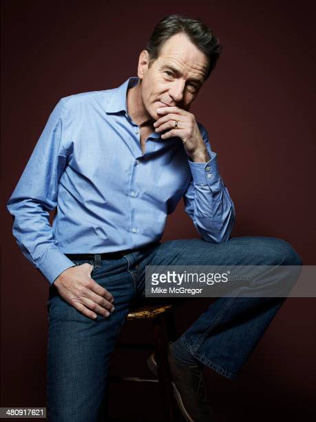Actor Bryan Cranston is photographed for The Guardian Newspaper on March 16 2014 in New York City