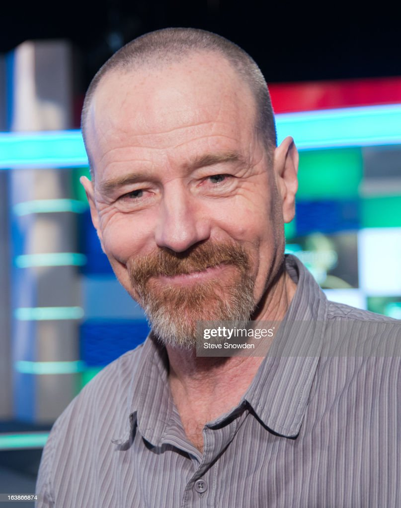 Actor <a gi-track='captionPersonalityLinkClicked' href=/galleries/search?phrase=Bryan+Cranston&family=editorial&specificpeople=217768 ng-click='$event.stopPropagation()'>Bryan Cranston</a> poses prior to participating in a tribute during the ABQ Studios And Youth Development Inc. Honor The Cast Of 'Breaking Bad' on at Albuquerque Studios on March 16, 2013 in Albuquerque, New Mexico.