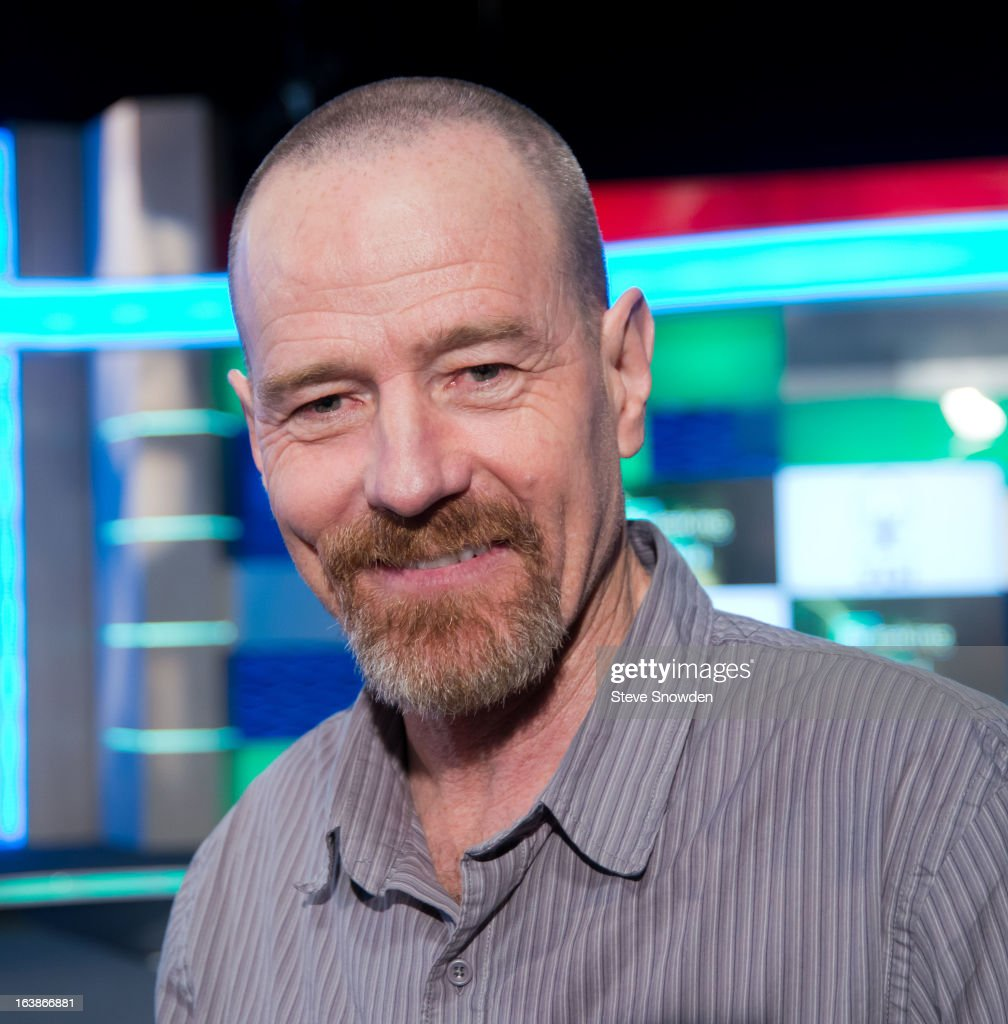 Actor Bryan Cranston poses prior to participating in a tribute during the ABQ Studios And Youth Development Inc. Honor The Cast Of 'Breaking Bad' on at Albuquerque Studios on March 16, 2013 in Albuquerque, New Mexico.