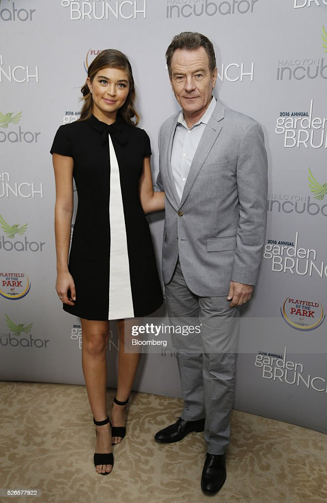 Actor Bryan Cranston, right, attends the 23rd Annual White House Correspondents' Garden Brunch in Washington, D.C., U.S., on Saturday, April 30, 2016. The event will raise awareness for Halcyon Incubator, an organization that supports early stage social entrepreneurs 'seeking to change the world' through an immersive 18-month fellowship program. Photographer: Andrew Harrer/Bloomberg via Getty Images
