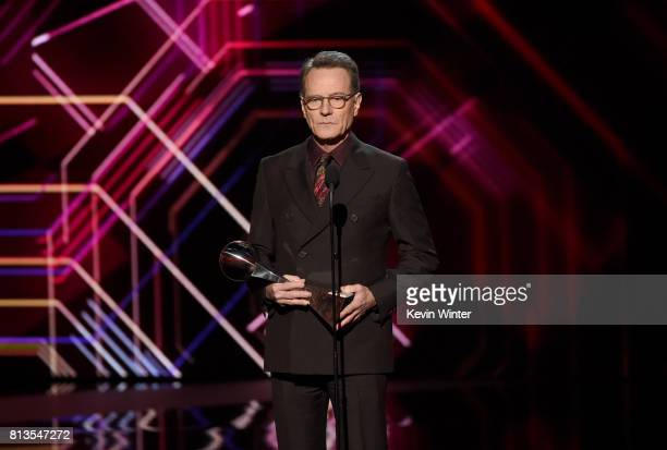Actor Bryan Cranston speaks onstage at The 2017 ESPYS at Microsoft Theater on July 12 2017 in Los Angeles California