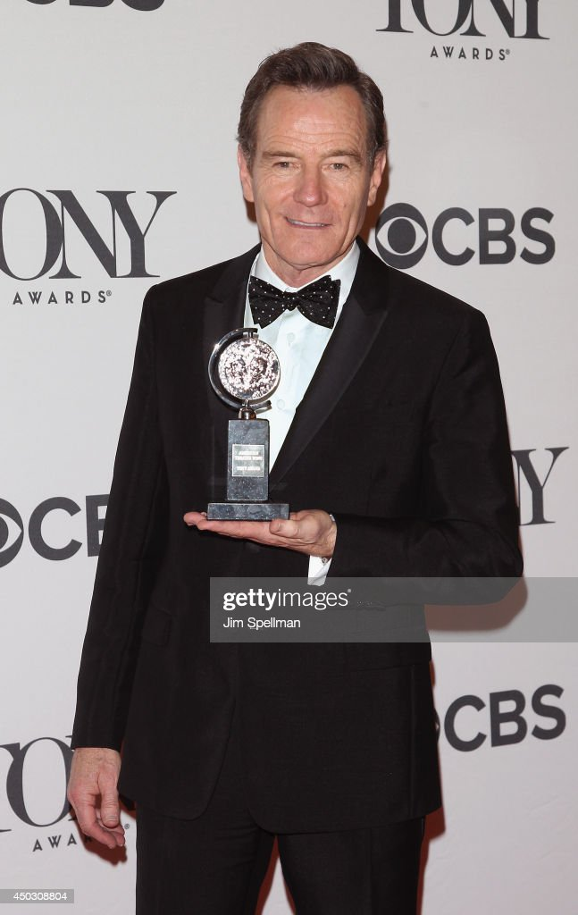 Actor <a gi-track='captionPersonalityLinkClicked' href=/galleries/search?phrase=Bryan+Cranston&family=editorial&specificpeople=217768 ng-click='$event.stopPropagation()'>Bryan Cranston</a>, winner best performance by an actor in a leading role in a play, attends American Theatre Wing's 68th Annual Tony Awards at Radio City Music Hall on June 8, 2014 in New York City.
