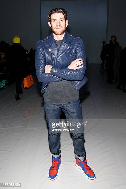 Actor Bryan Greenberg attends Richard Chai fashion show during MercedesBenz Fashion Week Fall 2014 at The Salon at Lincoln Center on February 6 2014...
