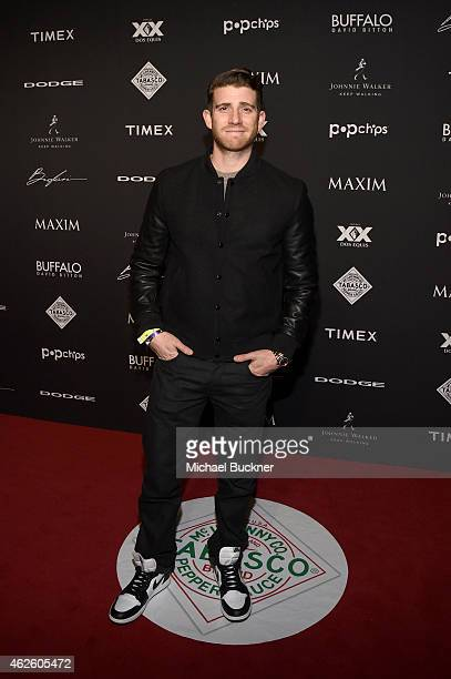 Actor Bryan Greenberg attends the Maxim Party with Johnnie Walker Timex Dodge Hugo Boss Dos Equis Buffalo Jeans Tabasco and popchips on January 31...