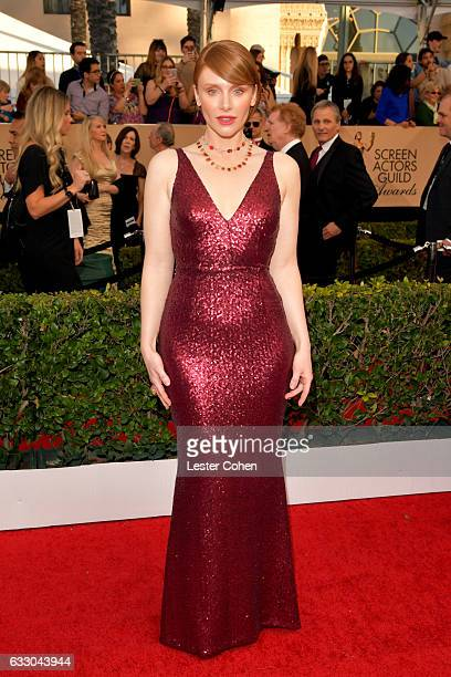 Actor Bryce Dallas Howard attends the 23rd Annual Screen Actors Guild Awards at The Shrine Expo Hall on January 29 2017 in Los Angeles California