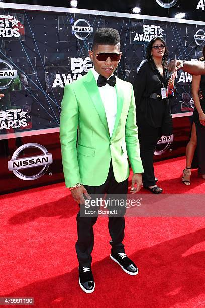 Actor Bryshere Y Gray arrived at the BET Make A Wish Foundation Recipients BET Experience At LA Live Red Carpet arrivals Weekend Events on June 28...