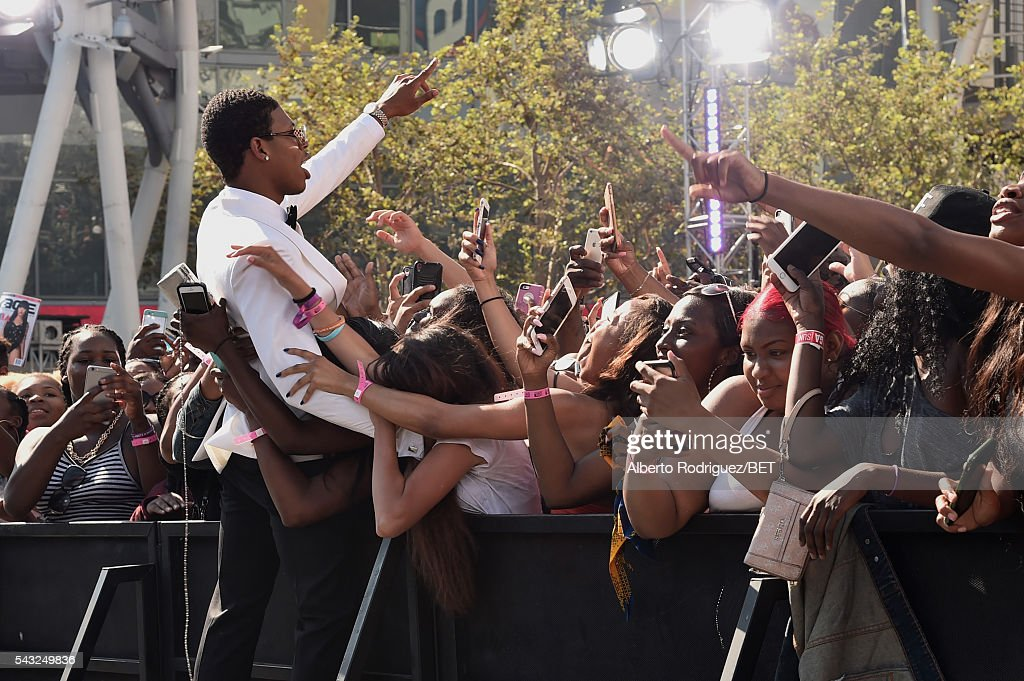 Actor <a gi-track='captionPersonalityLinkClicked' href=/galleries/search?phrase=Bryshere+Y.+Gray&family=editorial&specificpeople=13931431 ng-click='$event.stopPropagation()'>Bryshere Y. Gray</a> attends the 2016 BET Awards at the Microsoft Theater on June 26, 2016 in Los Angeles, California.
