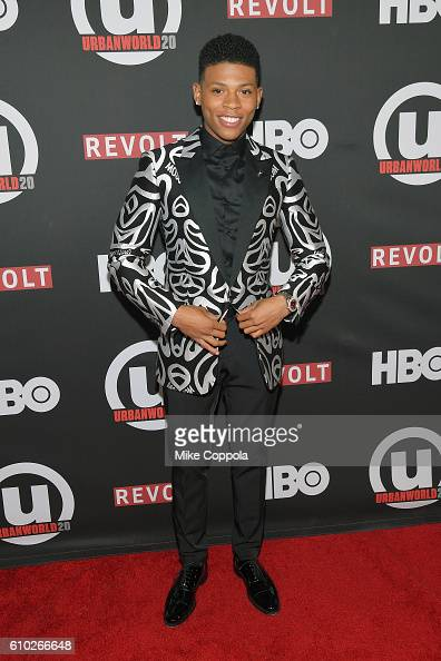 Actor Bryshere Y Gray attends the 20th Annual Urbanworld Film Festival 'The New Edition Story' Screening at AMC Empire 25 theater on September 24...