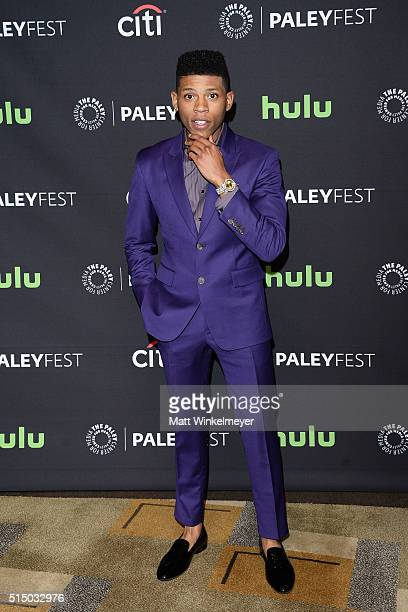 Actor Bryshere 'Yazz' Gray arrives at The Paley Center For Media's 33rd Annual PALEYFEST Los Angeles 'Empire' at Dolby Theatre on March 11 2016 in...