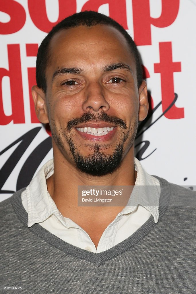 Actor Bryton James arrives at the 40th Anniversary of the Soap Opera Digest at The Argyle on February 24, 2016 in Hollywood, California.