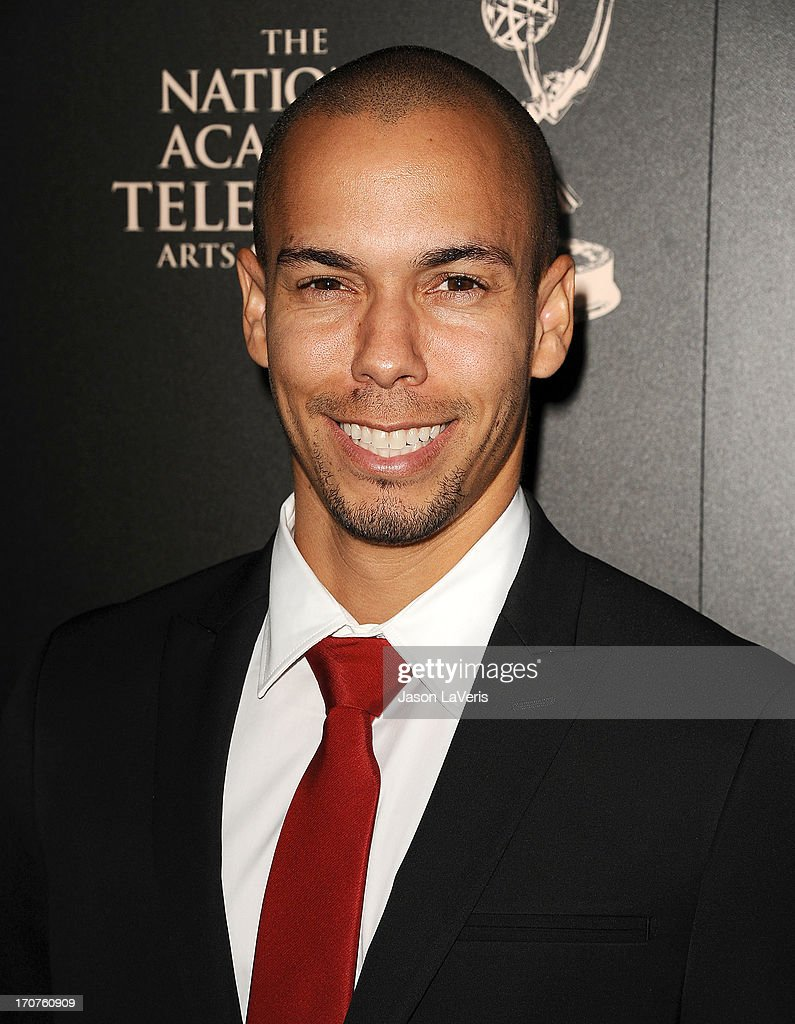 Actor Bryton James attends the 40th annual Daytime Emmy Awards at The Beverly Hilton Hotel on June 16, 2013 in Beverly Hills, California.