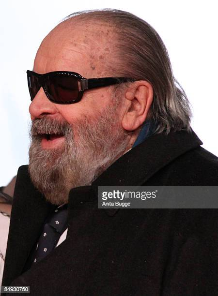 Actor Bud Spencer attends the 'Murder Is My Business Darling' World Premiere on February 19 2009 in Berlin Germany