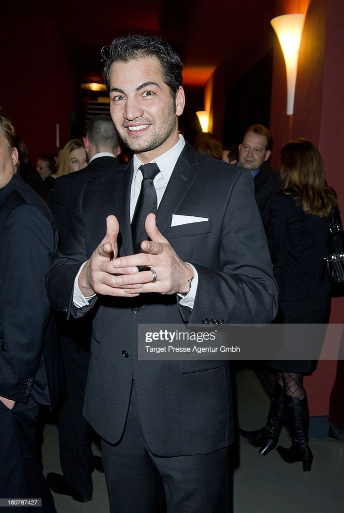 Actor Buelent Sharif attends the 6th Askania Award 2013 on February 5, 2013 in Berlin, Germany.