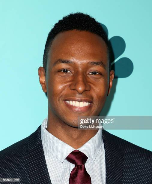 Actor Burl Moseley attends the 12th Annual NBCUniversal Short Film Festival finale screening at the Directors Guild of America on October 18 2017 in...
