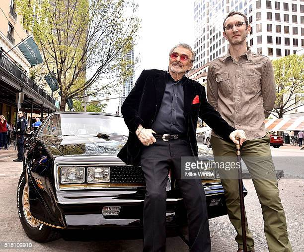 Actor Burt Reynolds and director Jesse Moss attend the screening of 'The Bandit' during the 2016 SXSW Music Film Interactive Festival at Paramount...