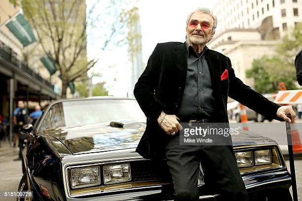 Actor Burt Reynolds attends the screening of 'The Bandit' during the 2016 SXSW Music Film Interactive Festival at Paramount Theatre on March 12 2016...