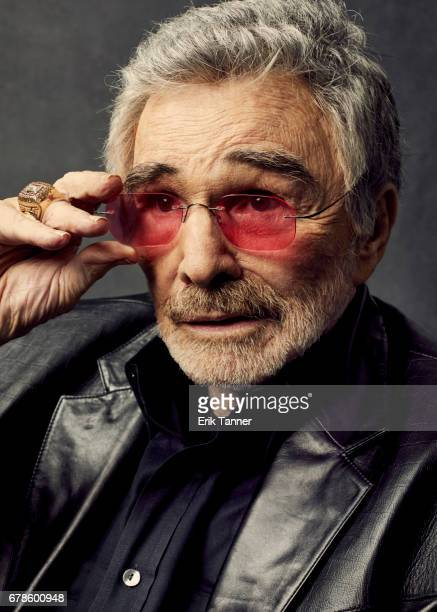 Actor Burt Reynolds from 'Dog Years' poses at the 2017 Tribeca Film Festival portrait studio on April 21 2017 in New York City