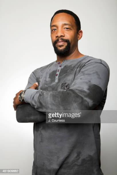 Actor Byron Minns is photographed at the American Black Film Festival at the Metropolitan Pavilion on June 20 2014 in New York City