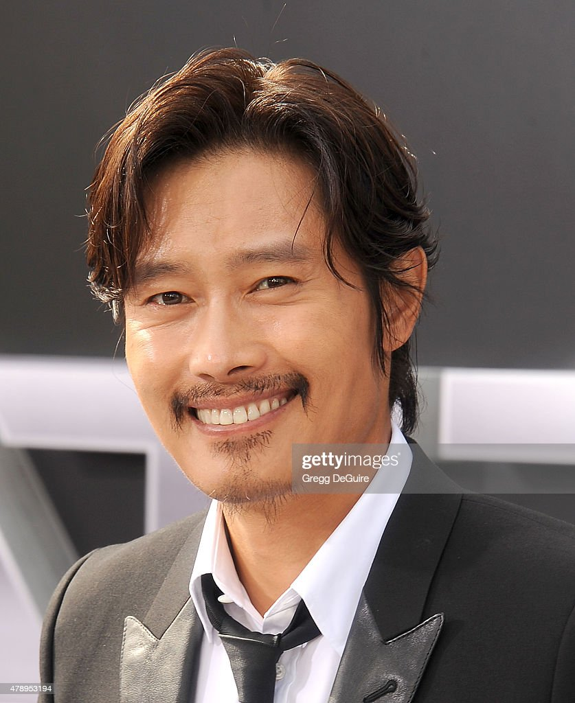 Actor Byung Hun Lee arrives at the Los Angeles premiere of 'Terminator Genisys' at Dolby Theatre on June 28, 2015 in Hollywood, California.