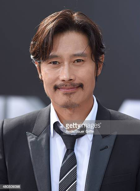 Actor Byung Hun Lee arrives at the Los Angeles premiere of 'Terminator Genisys' at Dolby Theatre on June 28 2015 in Hollywood California