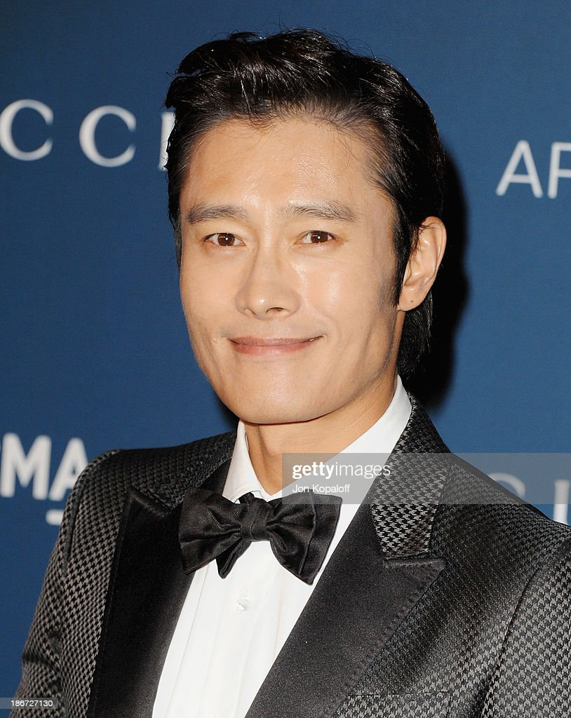 Actor Byung-hun Lee arrives at LACMA 2013 Art + Film Gala at LACMA on November 2, 2013 in Los Angeles, California.